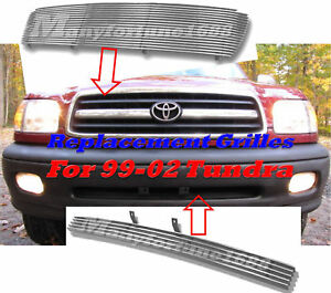 99 00 01 02 2001 2002 Toyota Tundra Billet Grille Combo