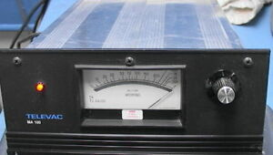 3 channel Televac Ma 100 Tc Gauge Readout Microns Milli