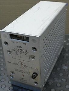 Transistor Devices Tdm 12 Volt Dc Power Supply At 1 2 A