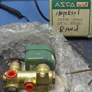 Asco Red hat Solenoid Valve 3 way Direct Acting 3 8