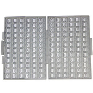 Smd Smt 1206 1 Resistor Kit E96 144 Value 100pc 14400pcs Box all Organizer