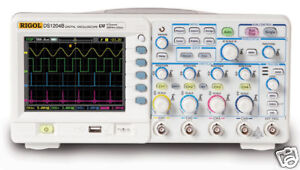 Rigol Digital Color Oscilloscope 200mhz 4 Chs Ds1204b