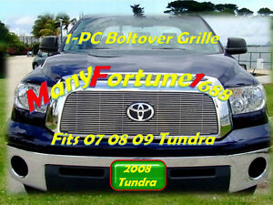07 09 08 2008 2009 Toyota Tundra New Billet Grille 1pc