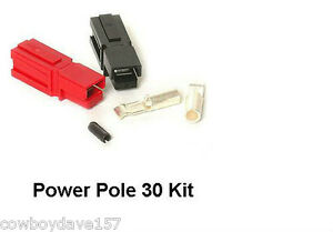 Anderson Powerpole 30 Amp Kit Power Pole 10 Pairs Sermos Includes Roll Pin