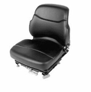 New Hyster Yale Forklift Vinyl Seat Assembly Pn 1468472