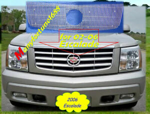02 03 04 05 2002 2003 2004 2005 2006 Cadillac Escalade New Billet Grille