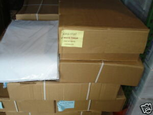1 Case 10 Reams Premium White Tissue Paper 4 800 Sheets 17 x27 Packing Stuffing