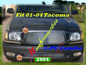 01 03 04 02 2003 2004 Toyota Tacoma Billet Grille Combo