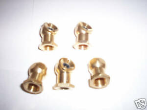 5 Solid Brass Tire Inflator Air Chucks 1 4 Npt