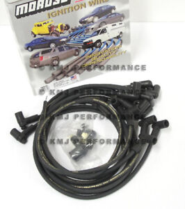 Moroso 9862m Sbc Small Block Chevy 350 5 7l 305 Spark Plug Wires Hei 90 Over V C