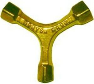 Furniture Repair Part Brass 3 Way Bed Bolt Wrench B7994