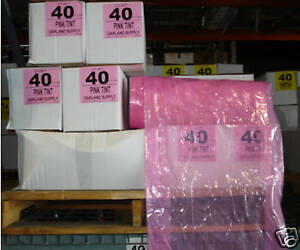 pink Dry Cleaning Poly Garment Bags 40 430bags roll