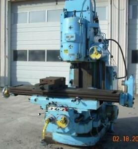 Cincinnati Milling Machine 315 16 vert dt 110v 460vac 3 Phase 60 Cycle
