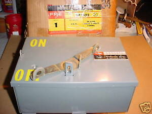 Bus Duct Switch Fpe 30 Amp 240v Sp1332 New In Box