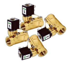 4 3 8 Asco Fast Electric 300 Psi Brass Valves Air Bags