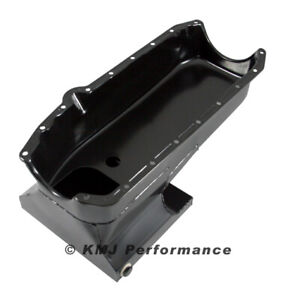 Chevy Ii Nova Small Block Sbc 327 350 383 400 Drag Race Style Oil Pan 2pc Rm