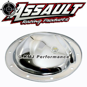 Gm Chevy Car Truck 10 Bolt Chrome Plated Steel Differential Cover W Drain Plug