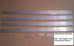 Model T Ford Frame 1 8 Easy Weld Boxing Plates 26 27