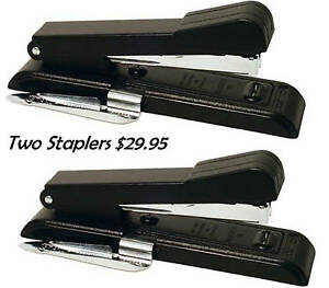 Lot Of 2 Stapler Stanley Bostitch Staple Gun B8rc