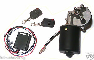 3 8 D Shaft 12v Gear Motor Pm Dc Reversible Wireless Remote Control Latch