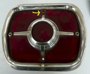 1965 Fairlane Sta Wag Tail Light Assy Cracked Lens