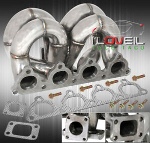 D15 d16 Civic Ram Horn Turbo Stainless Steel Manifold