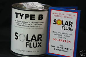 Solar Flux Type B For Stainless Steel Welding Tig Mig Smaw Free Shipping 1 Lb