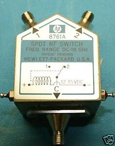 Agilent Hp 8761a Spdt Rf Switch Dc 18ghz Fully Tested With 30 Day Warranty