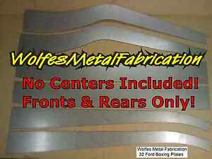 1932 Ford Frame Fronts Rears Only 1 8 Easy Weld Boxing Plates 32 Chassis