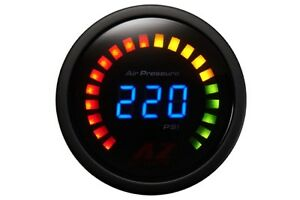 Az Digital Air Pressure Gauge Black Air Ride Suspension