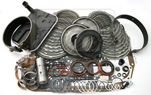 Chevy 4l80e Overdrive Transmission Deluxe Rebuild Kit 1997 up W Bands Bushings