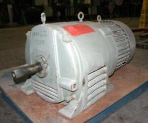 Ge Induction Motor Generator 15 Hp