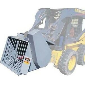 Concrete Mixer For Skid Steer Loaders Commercial Industrial