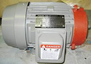 Toshiba High Efficiency Induction Motor nib 3 4 Hp