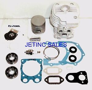 Cylinder Piston Kit Nikasil Fits Partner Husqvarna K760