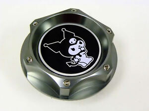 Dodge Chrysler Kuromi Billet Engine Oil Cap Gunmetal