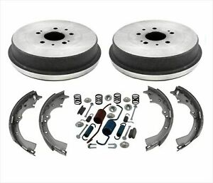 97 04 Toyota Pick Up Tacoma Rear Wheel Drive 2 256mm 5 Brake Drums