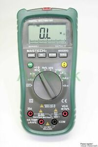 Mastech 1999 Ms8260e Digital Lcr Meter Multimeter Non contact Dmm