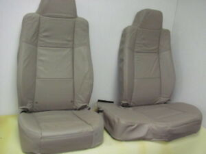 2006 09 Ford Ranger 60 40 Tan Leather Oem Seat Covers
