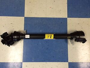 Slip Clutch Pto Shaft New For Most All 5 6 Rotary Cutters 6 Splined On Both