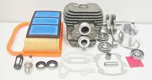 Cylinder Piston Crankshaft Kit Fits Stihl Ts410 Ts420 Nikasil