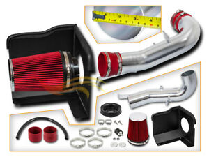 Cold Heat Shield Air Intake Red For 07 08 Silverado Sierra 1500 4 8 5 3 6 0 V8