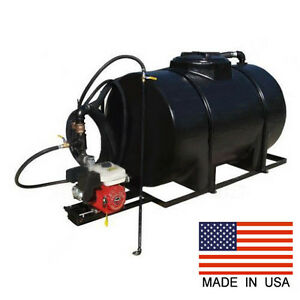 Asphalt Sealcoating Sprayer 325 Gallon Honda Engine 185 Gpm 48 Wand