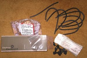 1958 66 Studebaker Edsel Willys Delco Ignition Wire Set Nos 486 A 6292484 4q 69