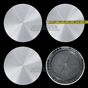 4 Chevy Gmc 16 Smooth Aluminum 6 Lug Wheel Center Hub Caps Hubs Rim Nut Covers