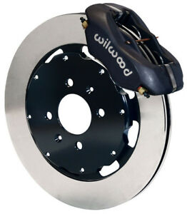 Wilwood Disc Brake Kit Front Honda 11 Rotors Black Calipers