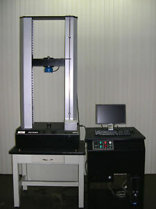 Retrofitted 5kn 1 125 Lbf Instron 4201 Tensile Compression Tester Pc Software