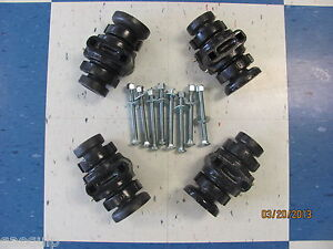 4 Disc Harrow Bearing Complete 1 Square W caps Bolts
