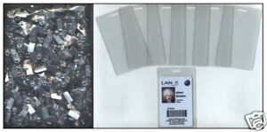 300 Id Badge Clips 300 10 Mil Laminating Pouches