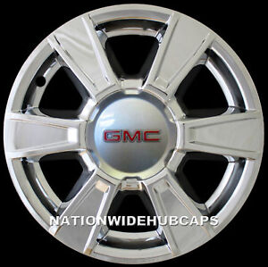 Set Of 4 Fits 10 13 Gmc Terrain 17 Chrome Wheel Skins Hub Caps Alloy Rim Covers